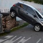 O que fazer após uma batida de carro?