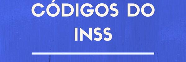 CODIGOS DO INSS