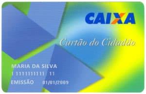 cartão do cidadão Caixa
