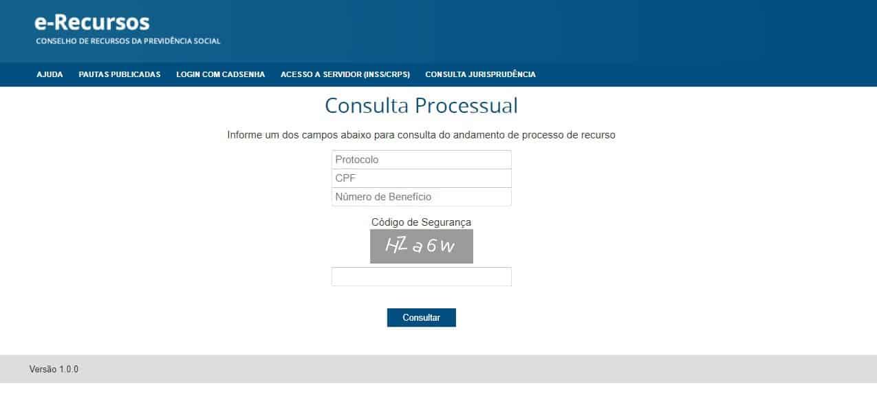consulta inss site