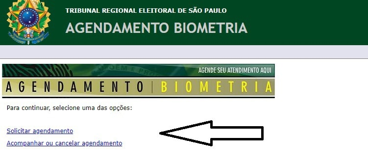 agendamento biometria sp