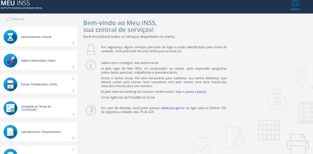 Site do Meu INSS