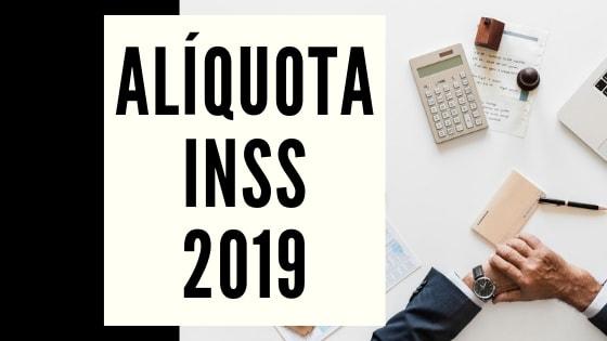 aliquota inss 2019